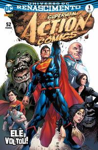 Cover Thumbnail for Action Comics (Panini Brasil, 2017 series) #1