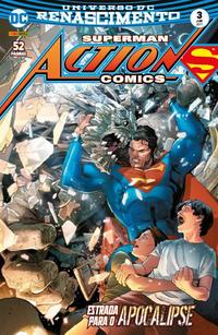 Cover Thumbnail for Action Comics (Panini Brasil, 2017 series) #3