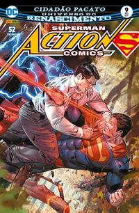 Cover Thumbnail for Action Comics (Panini Brasil, 2017 series) #9