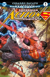 Cover for Action Comics (Panini Brasil, 2017 series) #9