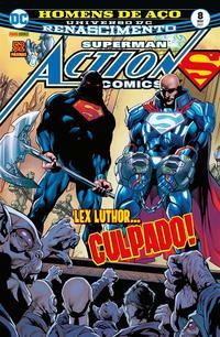 Cover Thumbnail for Action Comics (Panini Brasil, 2017 series) #8