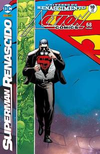 Cover Thumbnail for Action Comics (Panini Brasil, 2017 series) #10
