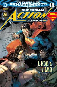Cover Thumbnail for Action Comics (Panini Brasil, 2017 series) #2