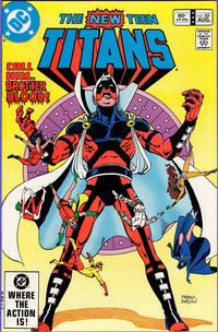 Cover Thumbnail for The New Teen Titans (DC, 1980 series) #22 [Direct]