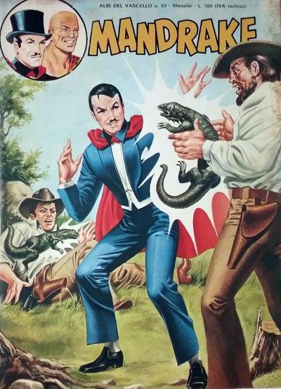 Cover for Mandrake - Albi del Vascello - Serie cronologica (Edizioni Fratelli Spada, 1972 series) #83