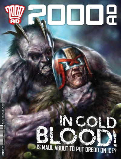 Cover for 2000 AD (Rebellion, 2001 series) #2068