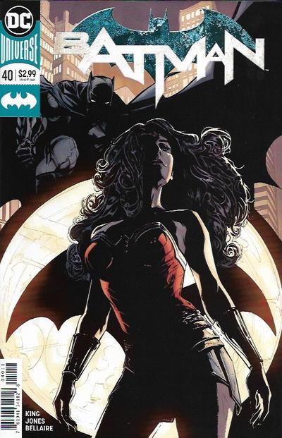 Cover for Batman (DC, 2016 series) #40