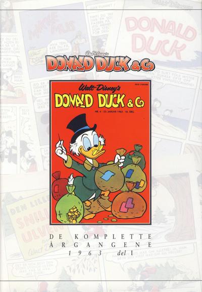 Cover for Donald Duck & Co De komplette årgangene (Hjemmet / Egmont, 1998 series) #[57] - 1963 del 1