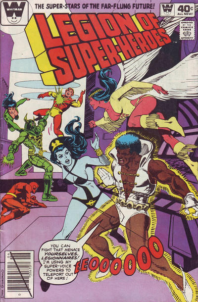 Cover for The Legion of Super-Heroes (DC, 1980 series) #264