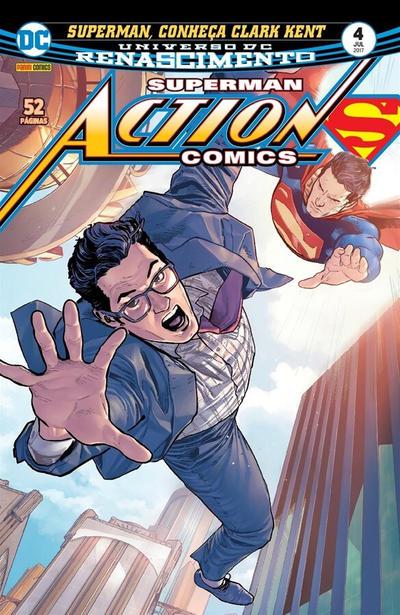 Cover for Action Comics (Panini Brasil, 2017 series) #4