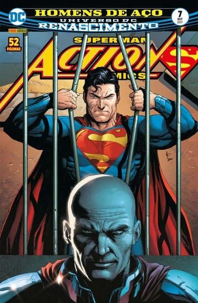 Cover for Action Comics (Panini Brasil, 2017 series) #7