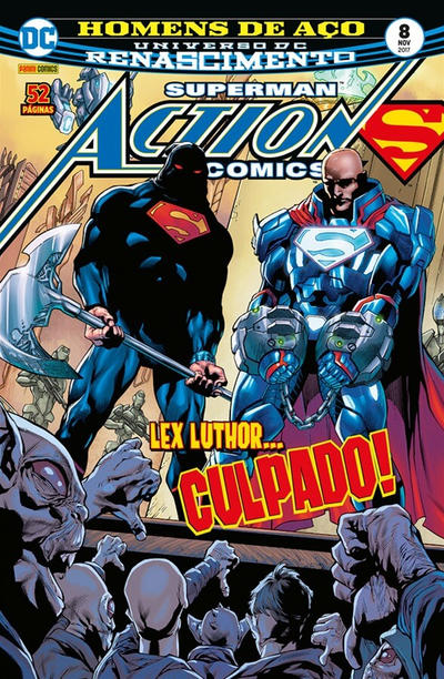 Cover for Action Comics (Panini Brasil, 2017 series) #8