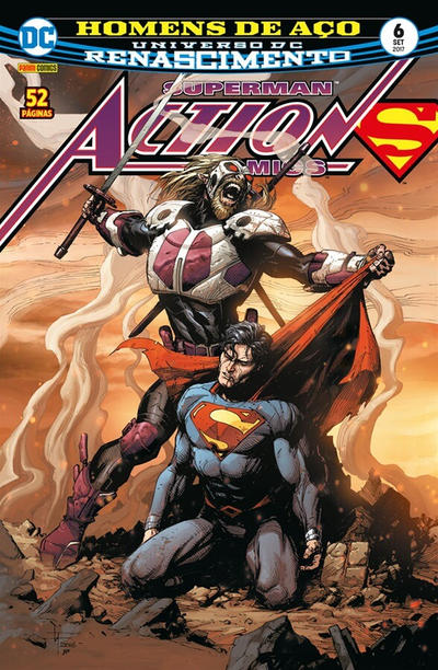 Cover for Action Comics (Panini Brasil, 2017 series) #6