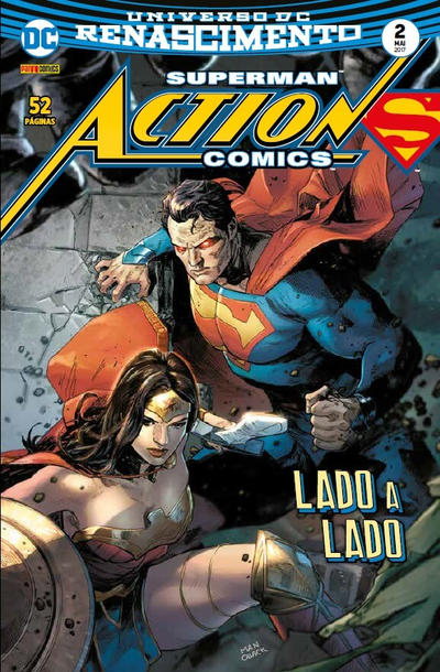 Cover for Action Comics (Panini Brasil, 2017 series) #2
