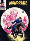 Cover for Mandrake - Il Vascello [Series Two] (Edizioni Fratelli Spada, 1967 series) #100
