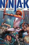 Cover for Ninja-K (Valiant Entertainment, 2017 series) #4 [Cover D - Juan José Ryp]