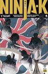 Cover for Ninja-K (Valiant Entertainment, 2017 series) #4 Pre-Order Edition