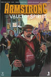 Cover for Armstrong and the Vault of Spirits (Valiant Entertainment, 2018 series) #1 [Cover A - Kalman Andrasofszky]