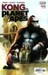 Cover for Kong on the Planet of the Apes (Boom! Studios, 2017 series) #4 [Cover A Mike Huddleston]