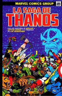 Cover Thumbnail for Marvel Gold. La Saga de Thanos (Panini España, 2018 series)