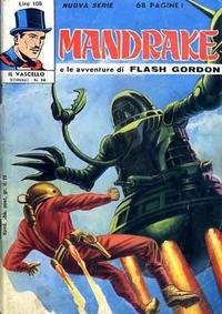 Cover for Mandrake - Il Vascello [Series Three] (Edizioni Fratelli Spada, 1971 series) #14