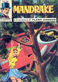Cover Thumbnail for Mandrake - Il Vascello [Series Three] (Edizioni Fratelli Spada, 1971 series) #27