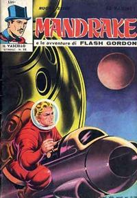 Cover for Mandrake - Il Vascello [Series Three] (Edizioni Fratelli Spada, 1971 series) #22
