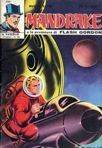 Cover Thumbnail for Mandrake - Il Vascello [Series Three] (Edizioni Fratelli Spada, 1971 series) #22