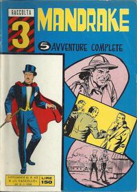 Cover Thumbnail for Raccolta Mandrake (Edizioni Fratelli Spada, 1967 ? series) #3