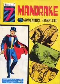 Cover Thumbnail for Raccolta Mandrake (Edizioni Fratelli Spada, 1967 ? series) #7