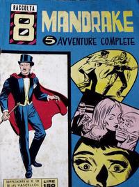 Cover Thumbnail for Raccolta Mandrake (Edizioni Fratelli Spada, 1967 ? series) #8