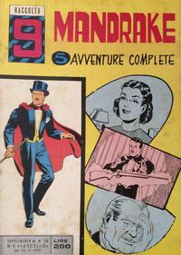 Cover Thumbnail for Raccolta Mandrake (Edizioni Fratelli Spada, 1967 ? series) #9