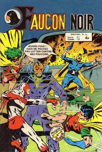 Cover Thumbnail for Faucon Noir (Arédit-Artima, 1977 series) #14