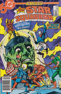 Cover Thumbnail for All-Star Squadron (DC, 1981 series) #56 [Newsstand]