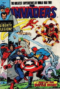 Cover Thumbnail for The Invaders (Yaffa / Page, 1977 series) #2