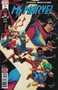 Cover Thumbnail for Ms. Marvel (Marvel, 2016 series) #27