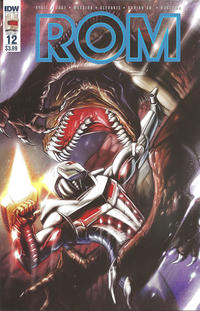 Cover Thumbnail for ROM (IDW, 2016 series) #12 [Regular Cover]