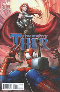 Cover Thumbnail for Mighty Thor (Marvel, 2016 series) #20 [Incentive Patrick Brown 'Mary Jane' Variant]