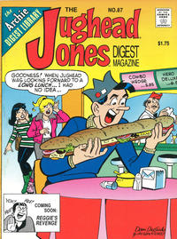 Cover Thumbnail for The Jughead Jones Comics Digest (Archie, 1977 series) #87