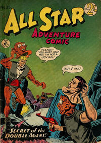 Cover Thumbnail for All Star Adventure Comic (K. G. Murray, 1959 series) #35