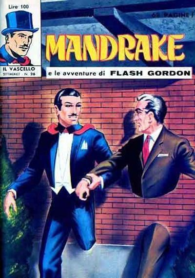 Cover for Mandrake - Il Vascello [Series Three] (Edizioni Fratelli Spada, 1971 series) #26