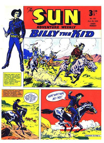 Cover for Sun (Amalgamated Press, 1952 series) #402