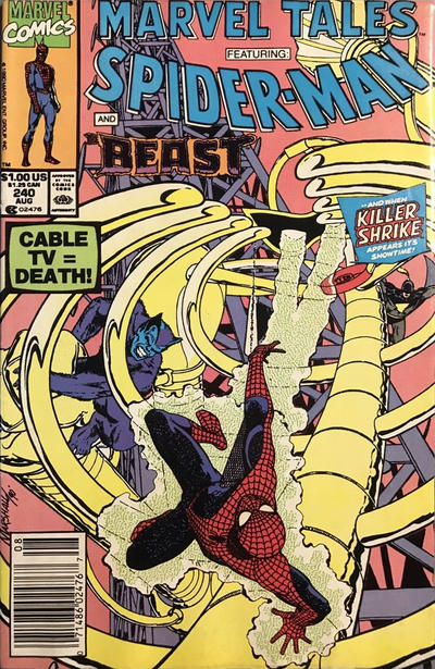 Cover for Marvel Tales (Marvel, 1966 series) #240 [Direct]