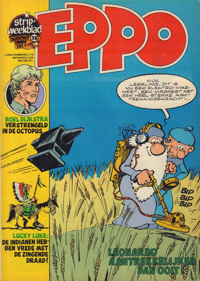 Cover for Eppo (Oberon, 1975 series) #38/1977