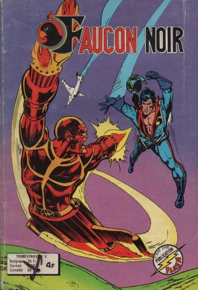 Cover for Faucon Noir (Arédit-Artima, 1977 series) #5