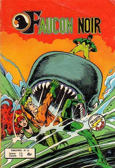 Cover for Faucon Noir (Arédit-Artima, 1977 series) #13