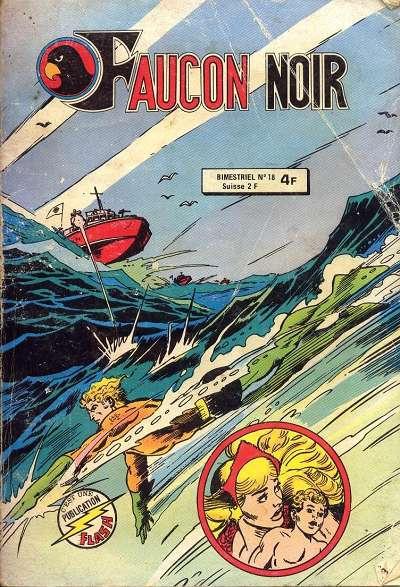 Cover for Faucon Noir (Arédit-Artima, 1977 series) #18
