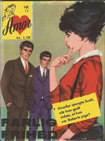Cover for Amor (Interpresse, 1964 series) #11