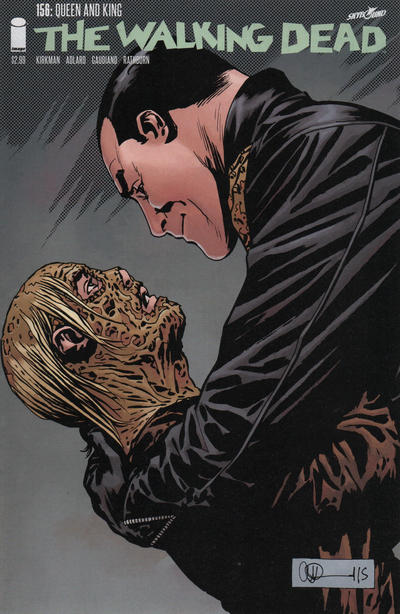 Cover for The Walking Dead (Image, 2003 series) #156