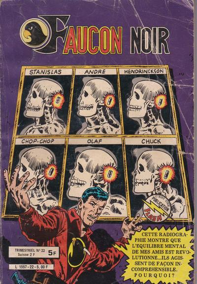 Cover for Faucon Noir (Arédit-Artima, 1977 series) #22